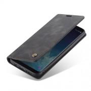CASEME 013 Δερμάτινη Θήκη Πορτοφόλι με Βάση Στήριξης Στυλ Ρετρό για Samsung Galaxy S8 Plus G955 - Μαύρο
