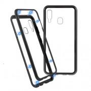Μεταλλική Μαγνητική Θήκη 360 μοιρών (Detachable Metal Frame) για Samsung Galaxy A30 - Μαύρο