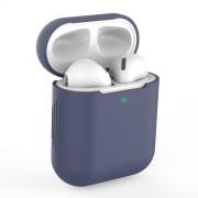 Θήκη Σιλικόνης για Apple AirPods - Σκούρο Μπλε