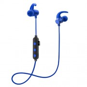 Magnetic Attraction Sports Stereo Bluetooth Earphone Sports Headset - Blue