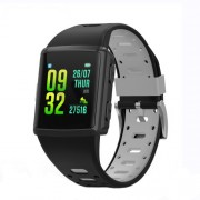 LEMONDA M3 GPS Sports Smart Watch 1.3 inch HD IPS Screen Six Watchfaces Real-time Activity Tracking - Μαύρο / Γκρι