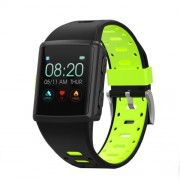 LEMONDA M3 GPS Sports Smart Watch 1.3 inch HD IPS Screen Six Watchfaces Real-time Activity Tracking - Μαύρο / Πράσινο