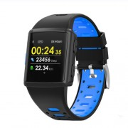 LEMONDA M3 GPS Sports Smart Watch 1.3 inch HD IPS Screen Six Watchfaces Real-time Activity Tracking - Μαύρο / Μπλε