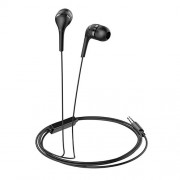 HOCO M40 Universal 3.5mm Wired Rhyme Sound Headphone with Microphone - Black