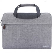 HAWEEL Αδιάβροχη Υφασμάτινη Τσάντα Μεταφορές για Laptops και Tablets μέχρι 15 ιντσών - Γκρι