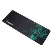 RAKOON Μεγάλο Gaming Mouse Pad Non-Slip Base Mouse Mat, Μέγεθος: 400x900mm - Πράσινος Δράκος