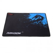RAKOON Stitched Edges Gaming Mouse Pad Non-Slip Base Mouse Mat, Μέγεθος: 250x300mm - Μπλε Δράκος