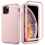 Θήκη Σιλικόνης TPU σε Συνδυασμό με Πλαστικό για iPhone 11 Pro Max 6.5 inch (2019) - Ροζέ Χρυσαφί