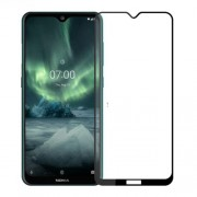 PINWUYO Full Size 2.5D 9H Tempered Glass Screen Protector Film for Nokia 7.2/Nokia 6.2