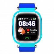 GPS Q90 1.22-inch Touch Screen Παιδικό Ρολόι WIFI Positioning Children Smart Watch Phone Support GPS, SOS Call, Pedometer - Μπλε