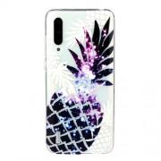 Embossed Pattern TPU Case for Xiaomi Mi CC9e/Mi A3 - Pineapple