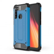 Armor Guard Stylish Plastic + TPU Hybrid Case for Xiaomi Redmi Note 8 - Baby Blue