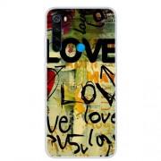 Θήκη Σιλικόνης TPU για Xiaomi Redmi Note 8 - Μοτίβο Love