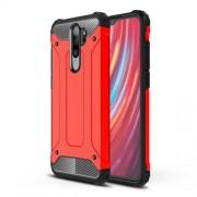 Armor Guard PC + TPU Hybrid Casing for Xiaomi Redmi Note 8 Pro - Red