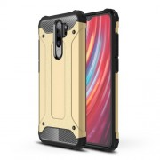 Armor Guard PC + TPU Hybrid Casing for Xiaomi Redmi Note 8 Pro - Gold