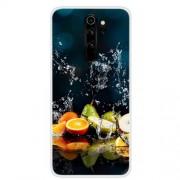 Θήκη Σιλικόνης TPU για Xiaomi Redmi Note 8 Pro - Φρούτα σε Αντικατοπτρισμό