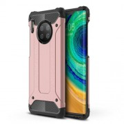 Armor Guard Plastic + TPU Combo Case for Huawei Mate 30 Pro - Rose Gold