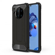Armor Guard Plastic + TPU Hybrid Case for Huawei Mate 30 - Black