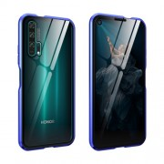 Μεταλλική Μαγνητική Θήκη 360 μοιρών (Detachable Metal Frame) για Huawei Honor 20 Pro - Μπλε