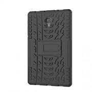 Cool Tyre Kickstand PC + TPU Hybrid Case for Samsung Galaxy Tab A 10.5 (2018) T590 T595 - Black