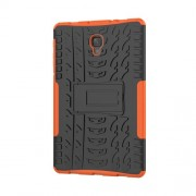Cool Tyre Hybrid PC + TPU Tablet Case with Kickstand for Samsung Galaxy Tab A 10.5 (2018) T590 T595 - Orange