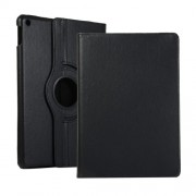 Litchi Texture Leather Stand Tablet Case for Apple iPad 10.2 (2019) - Black