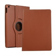 Litchi Texture Leather Stand Tablet Case for Apple iPad 10.2 (2019) - Brown