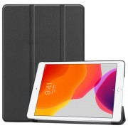 Tri-fold Stand Leather Smart Case for iPad 10.2 (2019) - Black