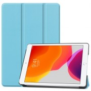 Tri-fold Stand Leather Smart Case for iPad 10.2 (2019) - Baby Blue