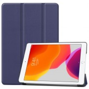 Tri-fold Stand Leather Smart Case for iPad 10.2 (2019) - Dark Blue