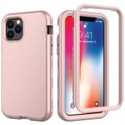 Θήκη Σιλικόνης TPU σε Συνδυασμό με Πλαστικό για iPhone 11 Pro 5.8 inch (2019) - Ροζέ Χρυσαφί