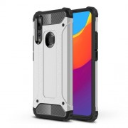 Armor Guard Plastic + TPU Hybrid Case for Huawei P Smart Z / Y9 Prime (2019) - Silver