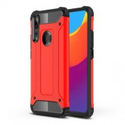 Armor Guard Plastic + TPU Hybrid Case for Huawei P Smart Z / Y9 Prime (2019) - Red