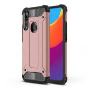 Armor Guard Plastic + TPU Hybrid Case for Huawei P Smart Z / Y9 Prime (2019) - Rose Gold