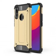 Armor Guard Plastic + TPU Hybrid Case for Huawei P Smart Z / Y9 Prime (2019) - Gold