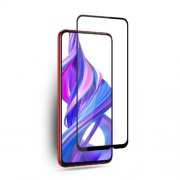 MOCOLO Silk Print Tempered Glass Full Coverage Screen Protector Film for Huawei P Smart Z/Y9 Prime 2019/Honor 9X/9X Pro