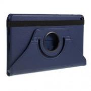 Περιστρεφόμενη Δερμάτινη Θήκη Βιβλίο με Βάση Στήριξης για Samsung Galaxy Tab A 8.0 Wi-Fi (2019) T290/ LTE T295 - Σκούρο Μπλε