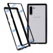 Μεταλλική Μαγνητική Θήκη 360 μοιρών (Detachable Metal Frame) για Samsung Galaxy Note 10 - Μαύρο