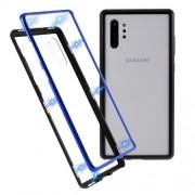 Μεταλλική Μαγνητική Θήκη 360 μοιρών (Detachable Metal Frame) για Samsung Galaxy Note 10 Plus - Μαύρο / Μπλε
