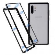 Μεταλλική Μαγνητική Θήκη 360 μοιρών (Detachable Metal Frame) για Samsung Galaxy Note 10 Plus - Μαύρο