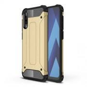 Tough Armor Υβριδική Θήκη Σιλικόνης TPU σε Συνδυαμό με Πλαστικό για για Samsung Galaxy A70 - Χρυσαφί