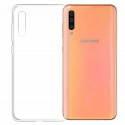 0.5mm Ultra-thin Transparent TPU Mobile Phone Back Case for Samsung Galaxy A50/A50s/A30s