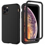 Θήκη Σιλικόνης TPU σε Συνδυασμό με Πλαστικό για iPhone 11 Pro Max 6.5 inch (2019) - Μαύρο