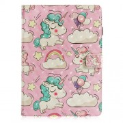 Pattern Printing Wallet Stand Leather Cover for iPad Air 10.5 inch (2019) / Pro 10.5-inch (2017) - Unicorns