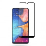 MOCOLO Silk Print Arc Edge Full Coverage 9H HD Tempered Glass Screen Protector for Samsung Galaxy A20e