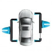 HOCO CPH01 Car Air Vent Mount Holder for iPhone Samsung Sony etc Width: 5.5-8.5cm - Blue