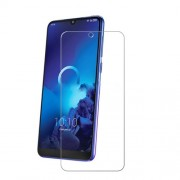 For Alcatel 3L 2019 0.3mm Tempered Glass Screen Protector Mobile Film (Arc Edge)