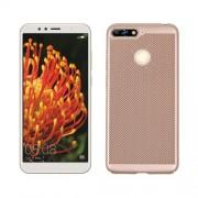 Σκληρή Θήκη Πλάτης για  Huawei Y6 (2018) / Honor 7A (with Fingerprint Sensor) / Honor 7A Pro / Enjoy 8e - Χρυσαφί