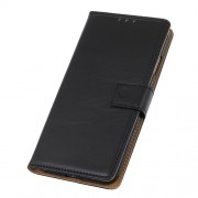 Wallet Leather Stand Case for LG G8s ThinQ - Black