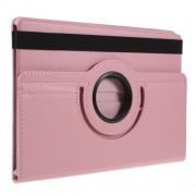 Περιστρεφόμενη Δερμάτινη Θήκη Βιβλίο με Βάση Στήριξης για Samsung Galaxy Tab S5e SM-T720 / SM-T725 - Ροζ